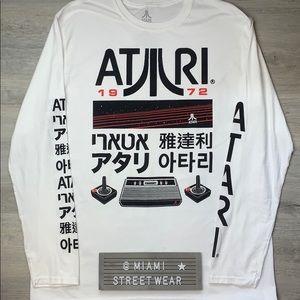 Other - New Men's Long Sleeve Tee Shirt Atari XL 2018